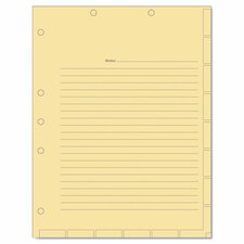 Medical Chart Index Divider Sheets (Pack of 400)