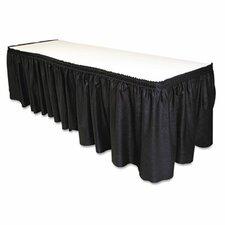 Table Set Linen-Like Table Skirt