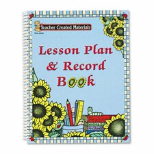 <strong>Teacher Created Resources</strong> Paw Prints Lesson Plan and Record Book with Monthly Planner, 160 Pages