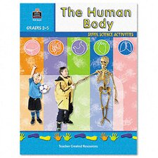 Super Science Activities/Human Body, Grade 2-5, 48 pages