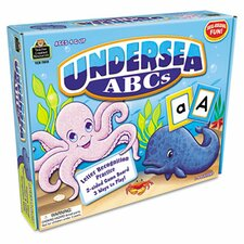 Undersea ABCs Game, Ages 4 & Up, 1-4 Players