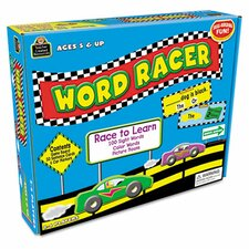 <strong>Teacher Created Resources</strong> Word Racer Game, 2-4 Players