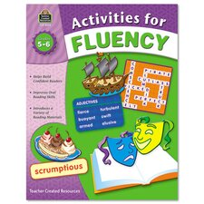 Activities for Fluency Grades 5 To 6, 144 Pages