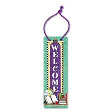 Welcome / Testing Door Sign