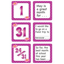 May Polka Dots Calendar Days Story