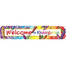 <strong>Teacher Created Resources</strong> Welcome To Kindergarten Banner