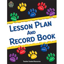 Paw Prints Lesson Plan And Record
