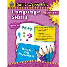Daily Warm Ups Language Skills Gr 5