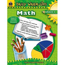 Daily Warm-ups Math Gr 4