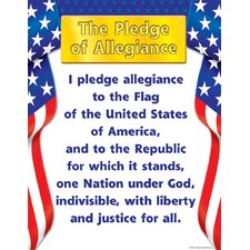 Pledge Of Allegiance Chart