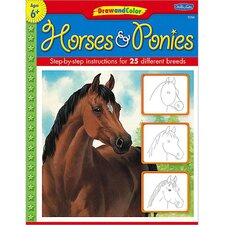 <strong>Teacher Created Resources</strong> Draw And Color Horses And Ponies