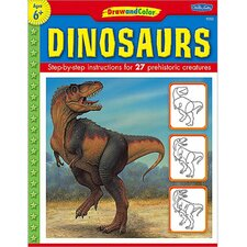 Draw And Color Dinosaurs