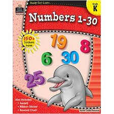 <strong>Teacher Created Resources</strong> Redy Set Learn Numbers 1-30 Gr K