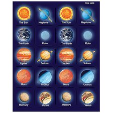 <strong>Teacher Created Resources</strong> Planets Thematic Stickers