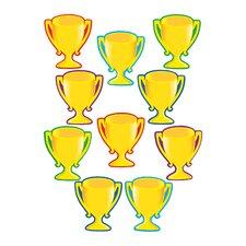 Trophy Cups Accents 30/pk