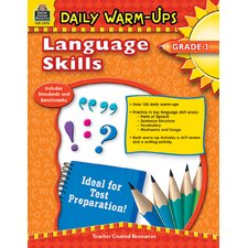Daily Warm Ups Language Skills Gr 3