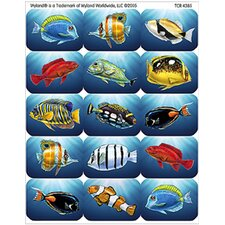 Wy Colorful Fish Stickers