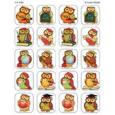 <strong>Teacher Created Resources</strong> Sw Owl Stickers