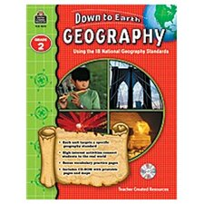 Down To Earth Geography Gr2 Bk W/cd