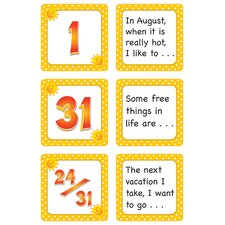 August Polka Dots Calendar Days