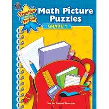 Math Picture Puzzles Gr 1