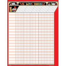 Me We Love Books Incentive Chart