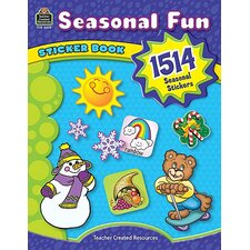 Seasonal Fun Sticker Book