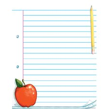 Notepad Paper Chart