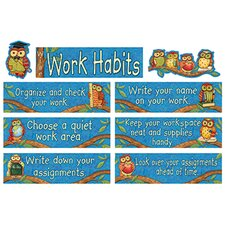 <strong>Teacher Created Resources</strong> Sw Wise Work Habits Mini Bb Set