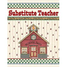 <strong>Teacher Created Resources</strong> Dm Substitute Teacher Pocket Folder