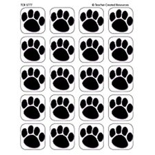 Stickers Black Paw Prints
