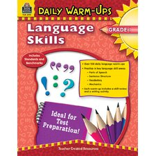 Daily Warm Ups Language Skills Gr 1