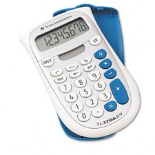 TI-1706SV Handheld Pocket Calculator 8-Digit LCD