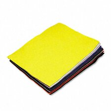 Rectangular Felt Sheet Pack, 12/Pack
