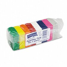 <strong>The Chenille Kraft Company</strong> Modeling Clay Assortment, 220 G