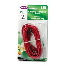 CAT5E Patch Cables in Red