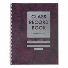 Common Cents Class Record Book. 9-10 Weeks, 8-1/2 x 11