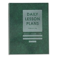 Common Cents Class Lesson Plan Book, 6 Classes/Day, 8-1/2 x 11