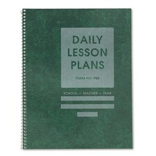 Common Cents Class Lesson Plan Book, 8 Classes/Day, 8-1/2 x 11