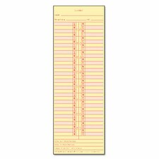 Time Card for Cincinnati / Lathem / Simplex/ Acroprint, Semi-Monthly, 500/Box