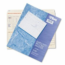 Employee Record Master File Jacket, 20/Pack