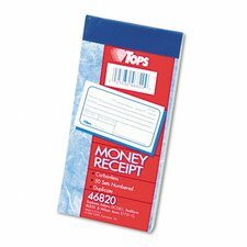 Money and Rent Receipt Books, 50 Sets/Book