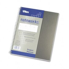 <strong>Tops Business Forms</strong> Noteworks Project Planner with Poly Cover