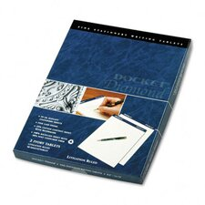 Docket Diamond Litigation Ruled Pad, Legal, Ivory, 50 Sheets, 2-Pack