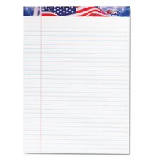 American Pride Writing Pad, Jr. Legal Rule, 50-Sheet