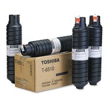 T6510 Toner Cartridge, 4 Cartridges, Black