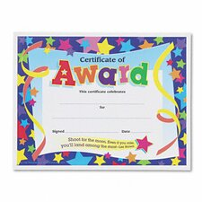 Certificates of Award 30/Pack