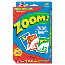 Zoom Math Card Game
