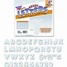 Ready Letters Sparkles Letter Set, 71/Set
