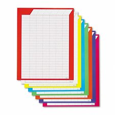 Vertical Incentive Chart Pack, 8/Pack